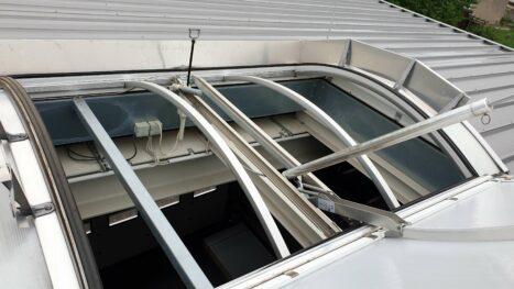 Lichtkuppel - Wartung von Rauch- und Wärmeabzugsanlagen (RWA)
