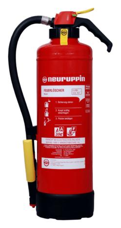Fettbrand Auflade-Feuerlöscher NEU F 6 SKM