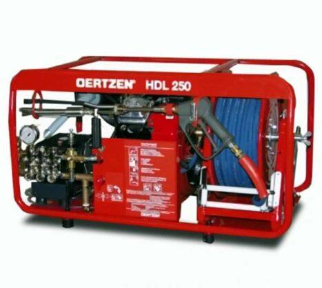 Das Hochdrucklöschgerät HDL 250 ist ein leistungsstarkes Hochdrucklöschgerät