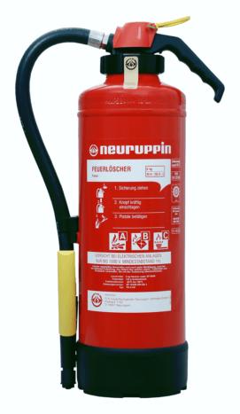 Pulver Auflade-Feuerlöscher NEU PG 6 AS